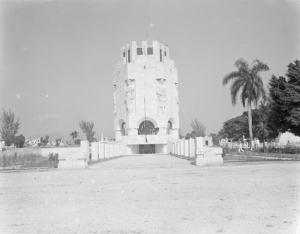 Mausoleo a Martí en Santiago de Cuba 1951