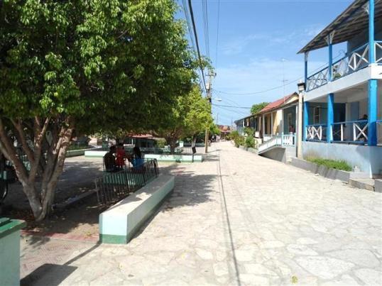 Parque de Cayo Granma, recientemente restaurado